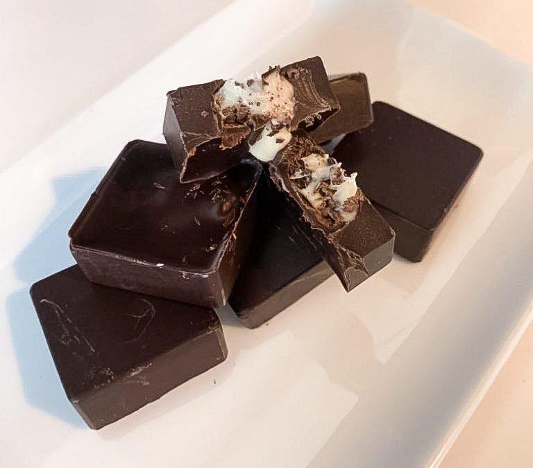 Cioccolatini ripieni senza glutine